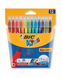 Bic Kids Colour Felt Pens 12 Pack