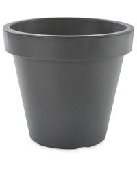 Gardenline Plastic Plant Pot - Black