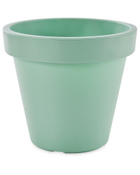Gardenline Plastic Plant Pot - Green