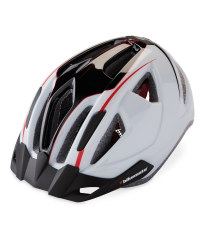 Bikemate Adult's Bike Helmet - White/Black