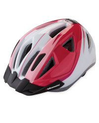 Bikemate Adult's Bike Helmet - White/Pink