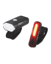 Front And Rear Bike Light Set