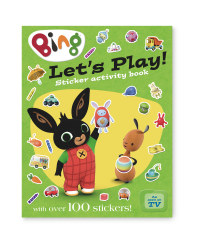 Bing Let's Play! Activity Book