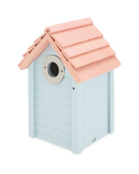 Bird Box Nest Box - Blue