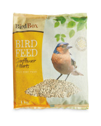 Bird Box Sunflower Hearts 1kg