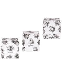 Black & White 3 Boxed Candle Set