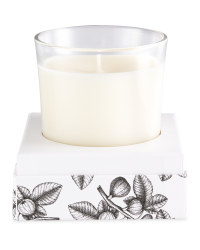 Black & White Berries Boxed Candle