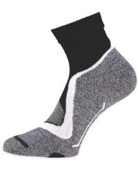 Black/White/Grey Cycling Ankle Socks