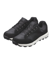 Crane Black Adult's Walking Shoes