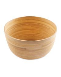 Natural Bamboo High Bowl