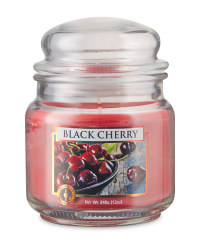 Black Cherry Candle Jar