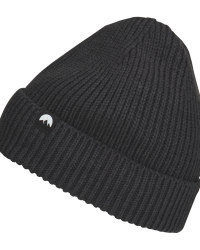 Adult's Black Fleece Lined Beanie
