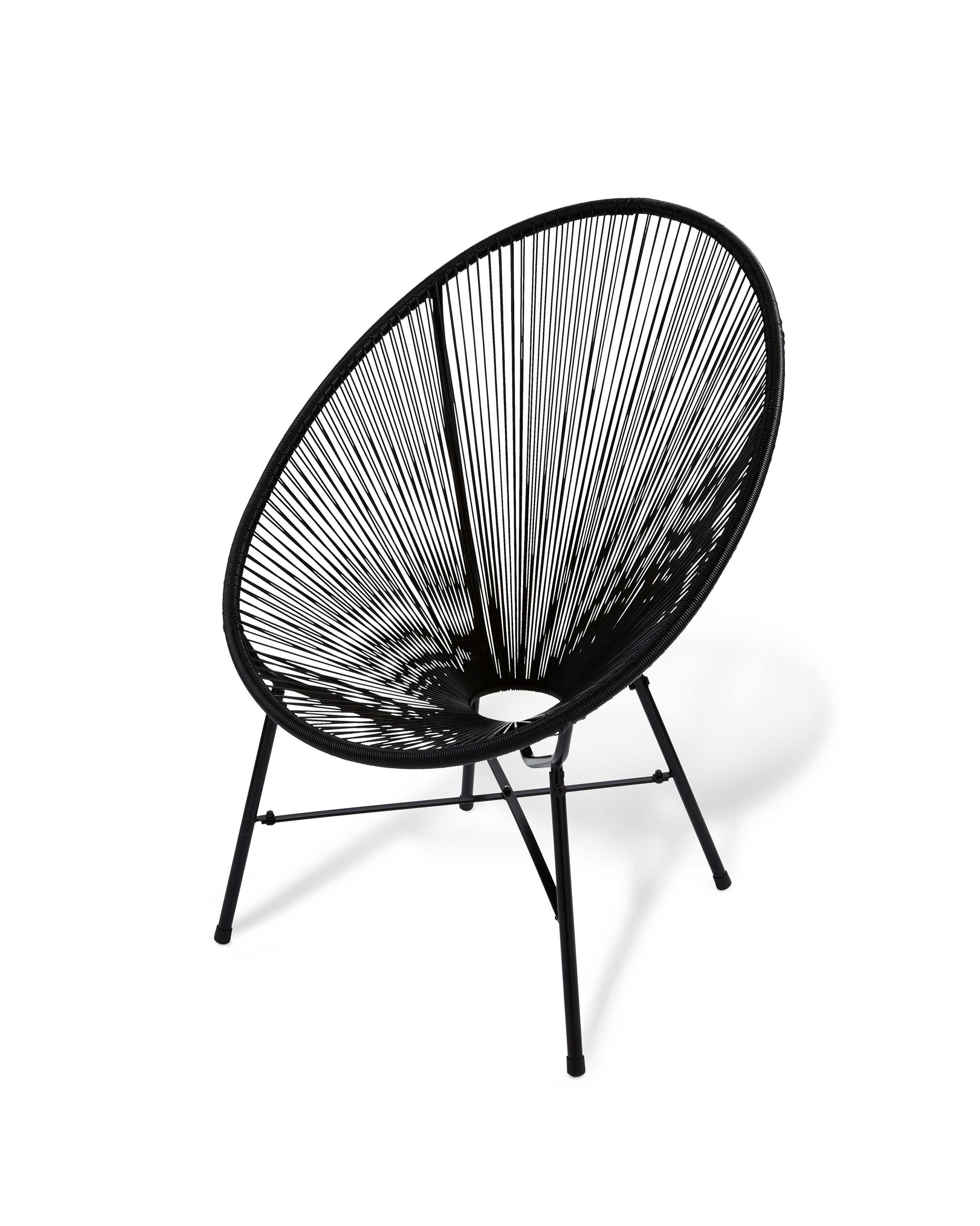 Wondrous Black Garden String Chair Gmtry Best Dining Table And Chair Ideas Images Gmtryco