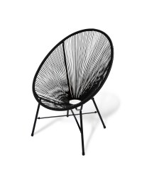 Black Garden String Chair