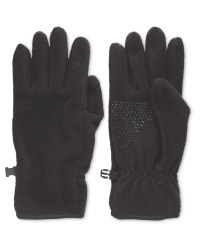 Crane Black Gloves