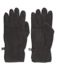 Crane Black Gloves