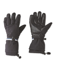 Inoc Black Ski Gloves