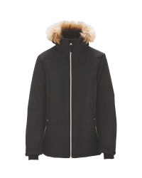 Black Junior Snow Jacket