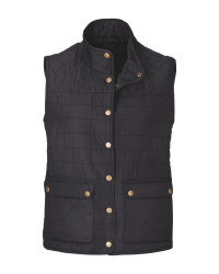 Crane Black Ladies' Quilted Gilet
