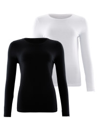 Avenue Ladies' Sleeved Tee 2 Pack