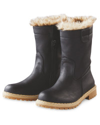 Black Ladies' Snug Boots