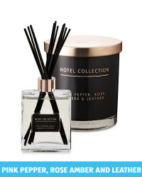 Black Large Reed Diffuser & Candle