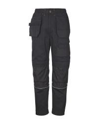 Men's Black Workwear Trousers