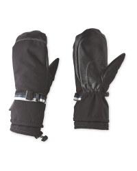 Inoc Black Ski Mittens