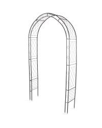 Black Modern Garden Arch