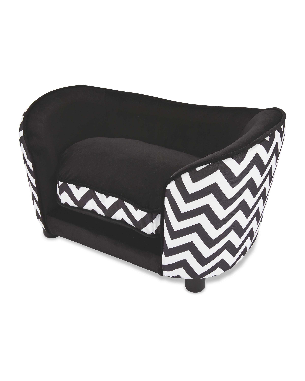 Black Pet Collection Sofa Pet Bed A