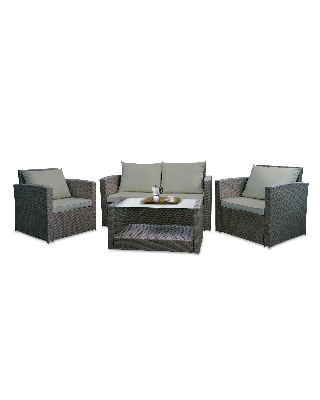 new product 83762 ed9fe Black Rattan Garden Furniture