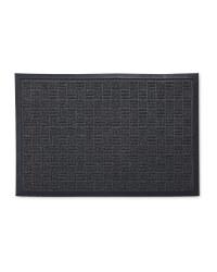 Workzone Black Scraper Mat