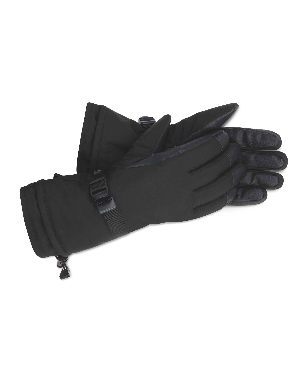 Inoc Black Ski Gloves
