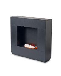 Black Sparkle Fireplace