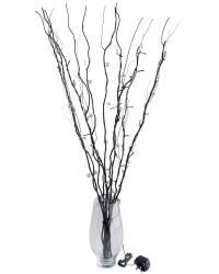 Black Twigs with Smoked Jewels