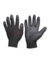 Black Multifunction Gloves 2 Pack