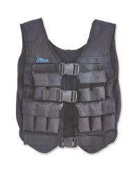 Black/ Blue Weighted Vest