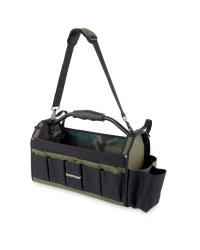 Large Black/ Green DIY Tote Bag