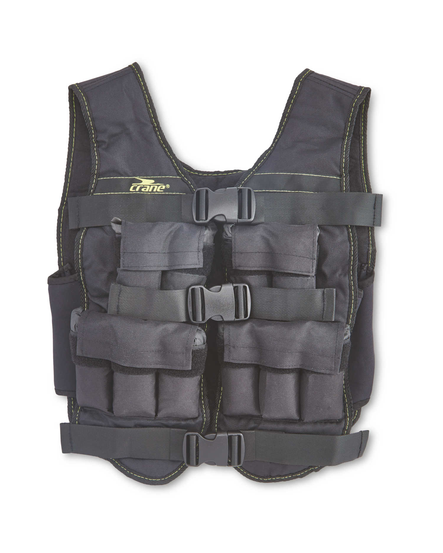 Black/ Green Weighted Vest