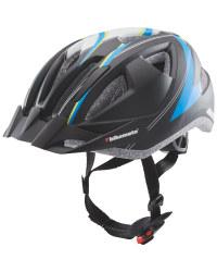 Black/Blue Children's Bike Helmet
