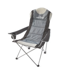 Black And Grey Camping Chair