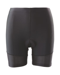 Black/Orange Ladies' Cycling Pants