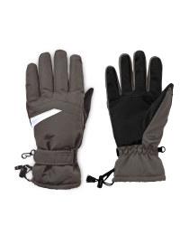 Avenue Black/White Ski Gloves