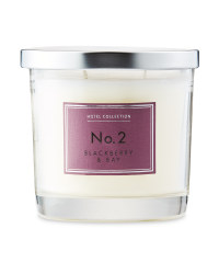 Blackberry & Bay Glass Candle