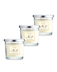 Blackberry Bay Glass Candle 3 Pack