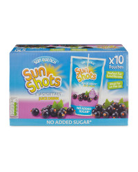 Blackcurrant Sunshot Pouches 10 Pack