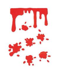 Blood Drip Halloween Gel Stickers