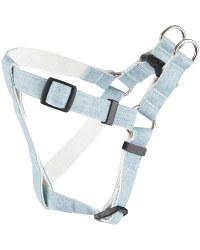 Blue Bamboo Strap Dog Harness