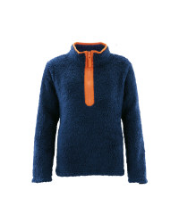 Crane Kids' Blue Equestrian Fleece