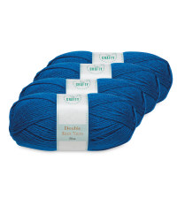 So Crafty Blue Double Knit Yarn